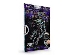 Набор для творчества DankoToys DT DAR-01-05 Diamond Art Картина со стразами Конь