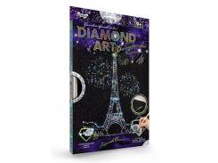 Набор для творчества DankoToys DT DAR-01-06 Diamond Art Картина со стразами Эйфелева башня