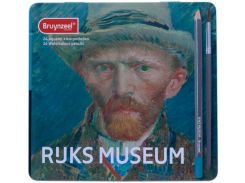 Набор акварельных карандашей Bruynzeel Dutch Masters 24шт. мет. коробка 5701M24