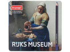 Карандаши цветные 24цв. Bruynzeel Dutch Masters Молочница в метал коробке 5700M24