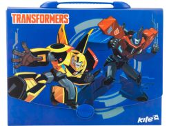 Портфель А4 Kite мод 209 Transformers пластик с замком TF17-209