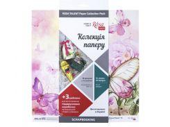 Бумага для скрапбукинга Rosa Talent набор 16л 30,5*30,5см Floral Poem двусторонняя 200 г/м 5312005