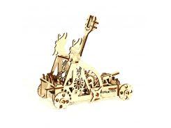 Деревянная сборная механическая 3D модель Wood Trick Катапульта 190067