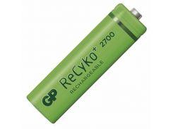 Аккумуляторная батарейка АА (пальчиковая) GP 1шт ReCyko 270AAHCE-2GBE