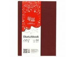 Блокнот для набросков А4 21*29,7см Rosa Studio 100г/м 96л. 16R5020