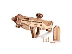 Деревянная сборная механическая 3D модель Wood Trick Штурмовая винтовка USG-2 190487