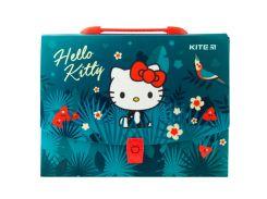 Портфель А4 Kite мод 209 Hello Kitty пластик с замком HK19-209