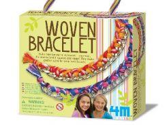Набор для творчества 4M Аксессуары для девочек Тканые браслеты 00-04641