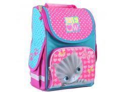 Рюкзак (ранец) 1 Вересня школьный каркасный Yes 555294 Cat H-11 34*26*14см