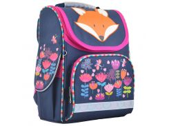 Рюкзак (ранец) 1 Вересня школьный каркасный Yes 555202 Fox H-11 33.5*26*13.5см