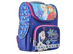 Рюкзак (ранец) 1 Вересня школьный каркасный Yes 555158 Frozen blue H-11 33.5*26*13.5см