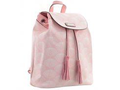 Рюкзак (ранец) школьный 1 Вересня YES 555876 YW-25, 17*28.5*15, розовый