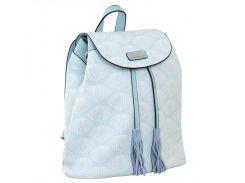 Рюкзак (ранец) школьный 1 Вересня YES 555872 YW-25, 17*28.5*15, серо-голубой