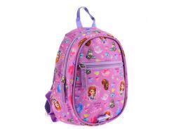 Рюкзак (ранец) дошкольный 1 Вересня мини 556839 Sofia K-31 26*21*8см
