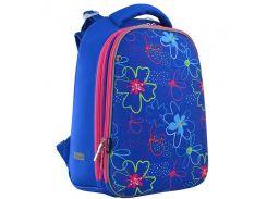 Рюкзак (ранец) 1 Вересня школьный каркасный 556038 Vivid flowers H-12-1 38*29*15см