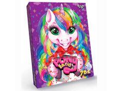 Набор для творчества DankoToys PT DL-01-01 7в1 Pony Land игры, творчество