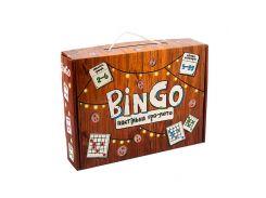 Игра настольная Strateg Лото 30757 BinGo