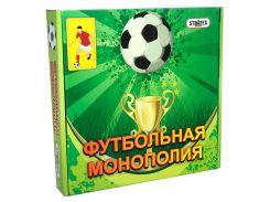 Игра настольная Strateg 716 Монополия футбольная