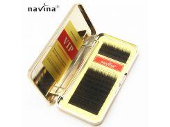 Ресницы изгиб С 0.10 (12 рядов: 14мм) Navina