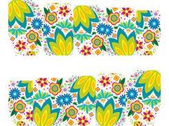 Фото-дизайн 0020 Цветочный узор