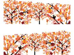 Фото-дизайн 0041 Осенние деревья