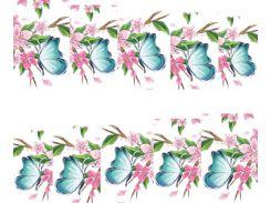Фото-дизайн 0030 Яблоня и бабочка