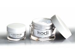 Гель белый конструирующий  (UV Builder gel White Snow) 14 мл Kodi