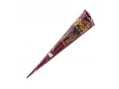 Хна в конусной упаковке maroon/красно-коричневая 25 г.