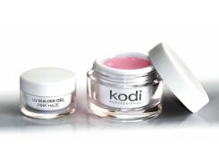 Гель прозрачно-розовый конструирующий  (UV Builder gel Pink Hazel) 14 мл Kodi