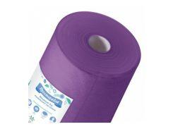 Простынь 0,8м х 100п.м рулон пурпурный Пани Млада