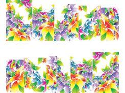 Фото-дизайн 0043 Яркие лилии
