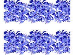 Фото-дизайн 0015 Синие цветы