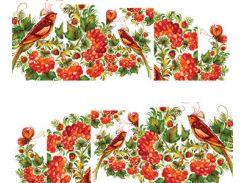 Фото-дизайн 0011 Ягоды и птичка
