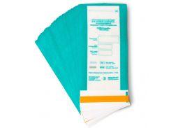 Крафт пакет + плёнка для стерилизации ПСПВ 100*200 мм Медтест (100шт)