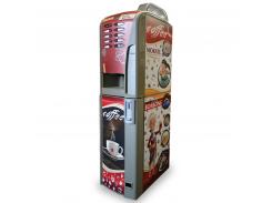 Кофейный автомат Saeco Rubino 200, категория А, красный