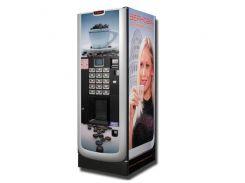 Брендированнаянаклейкана кофейный автомат, Cafe Poli