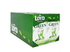 Чай в пакетиках Loyd, зеленый и белый, алоэ вера, 1.7г*20шт, 10 уп