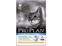 Сухой корм для домашних кошек Purina Pro Plan House Cat с курицей и рисом (10 кг)