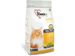 Сухой корм для пожилых или малоактивных котов 1st Choice Senior (5,44 кг)