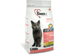 Сухой корм для взрослых кошек 1st Choice VITALITY (10 кг)