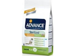 Сухой корм для стерилизованных кошек Advance Cat Sterilized c индейкой и ячменем (15 кг)