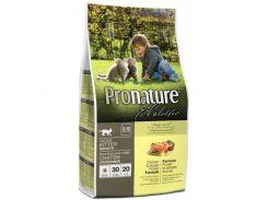 Сухой корм для котят Pronature Holistic с курицей и бататом (2,72)