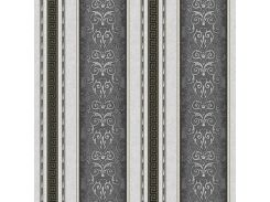 Обои бумажные Континент Версаче компаньон серый 1279