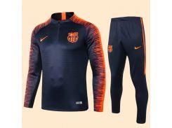 Футбольный тренировочный костюм для детей Барселона 2019 Nike р.26 135-145 см N14-26 (2658)