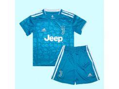 Футбольная форма Ювентуса Дуглас Коста детская 2020 Adidas резервная Размер (2833)