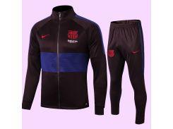 Спортивный костюм футбольный Барселона для детей FC Barcelona Jacket 2020 р.28 145-155 см N16-28 (2865)