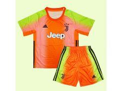 Детская вратарская форма 19-20 Juventus & Palace & Adidas M 125-135 см M-22 (2880)
