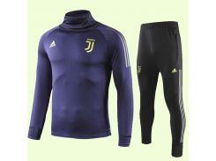 Футбольный тренировочный костюм для детей Ювентус Adidas 2020 р.26 135-145 см N14-26 (2757)