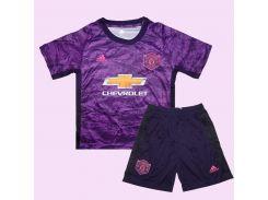 Детская футбольная форма вратаря МЮ 19-20 Adidas домашняя XXL 155-165 см XXL-28 (2851)