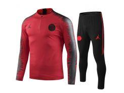 Футбольный тренировочный костюм для детей ПСЖ Air Jordan 2020 р.26 135-145 см N14-26 (2759)